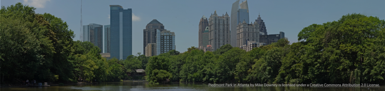 Piedmont Park in Atlanta by Flickr user Mike Downey