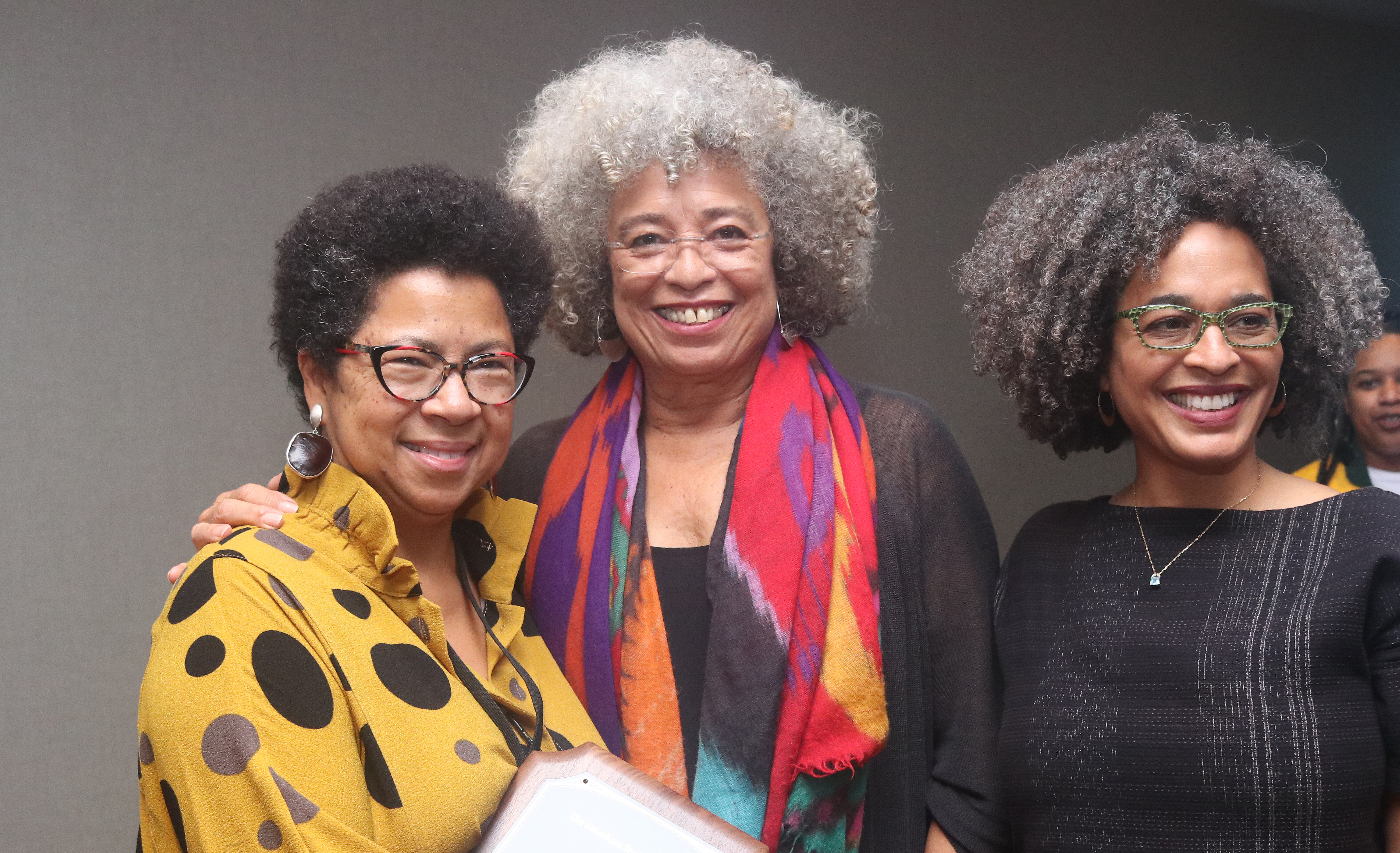 Angela Davis and Barbara Ransby